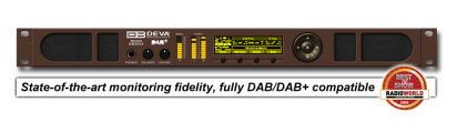DB3012 - Advanced DAB/DAB+ & IP Audio Confidence Monitoring Receiver