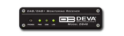 DB46 - Compact DAB/DAB+ Monitoring Receiver