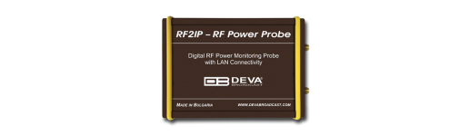 RF2IP - Digital RF Power Monitoring Probe with LAN Connectivity